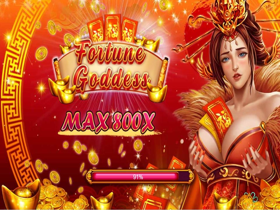 เล่นสล็อต AMBBET เกมสล็อต Fortune Goddess ค่าย FUNKY GAMES